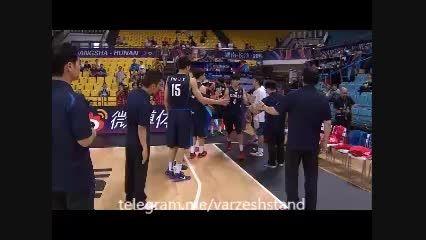 خلاصه بسکتبال ایران-کره در رقابتهای جام ملتهای آسیا2015