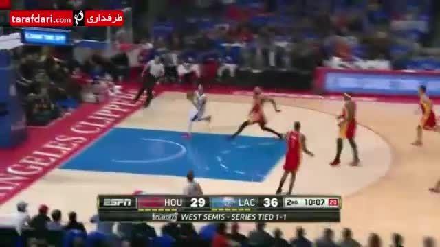 بسکتبال NBA- لس آنجلس کلیپرز 124-99 هیوستن راکتس