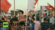 تظاهرات مردم بحرین در روز مشت آهنین انقلاب +فیلم
