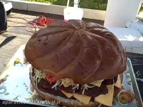 کارناوال   چالش همبرگر