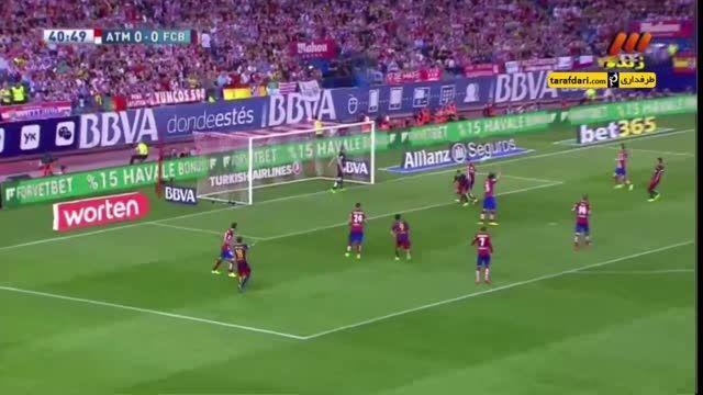 خلاصه بازی اتلتیکو مادرید 1 - 2 بارسلونا