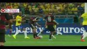 خلاصه بازی برزیل ۱-۷ آلمان