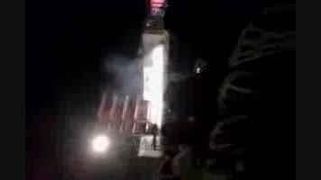 آتش بازی در جشنی در شهرستان ساری مهد بهارنارنج