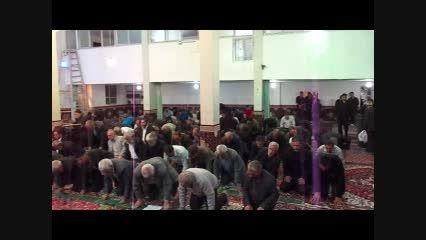 نمازجماعت مهربان به امامت حاج آقا مهربانی درمسجدجامع