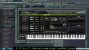 نوازندگی به صورت زنده با كیبورد كامپیوتر ( آهنگ بسیار شاد )