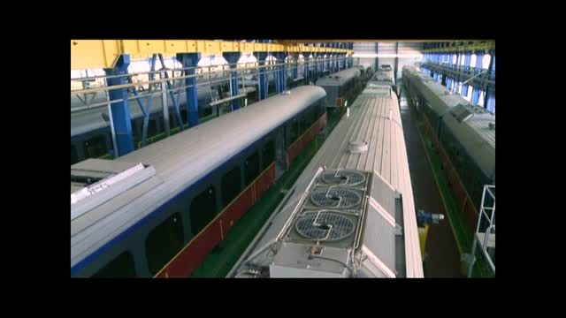 تیزر راه اندازی مجدد خط تولید ریل باس ایریکو