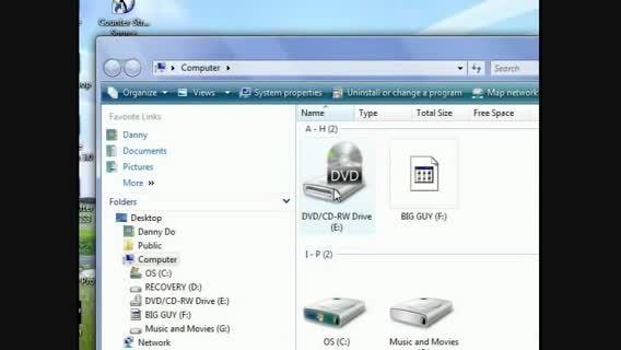 CD/DVD درایو شناخته نشده