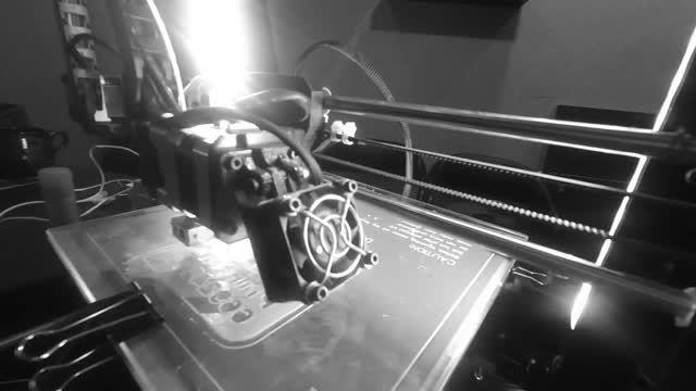 تایم لپس پرینت سه بعدی کارت ویزیت نیکانو