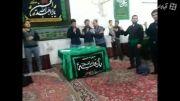 همخوانی بسیار دلنشین در حسینیه مشهد,شهادت امام رضا