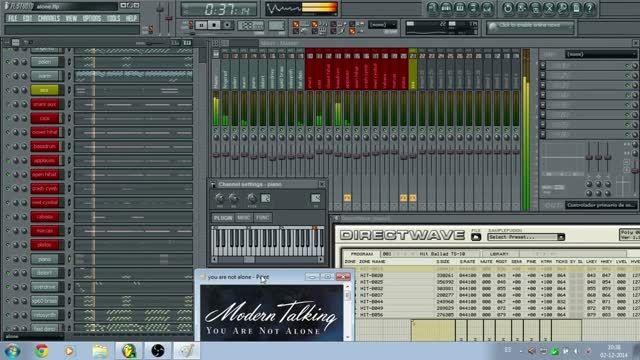 اجرا آهنگ You Are Not Alone مدرن تاکینگ با FL Studio 7