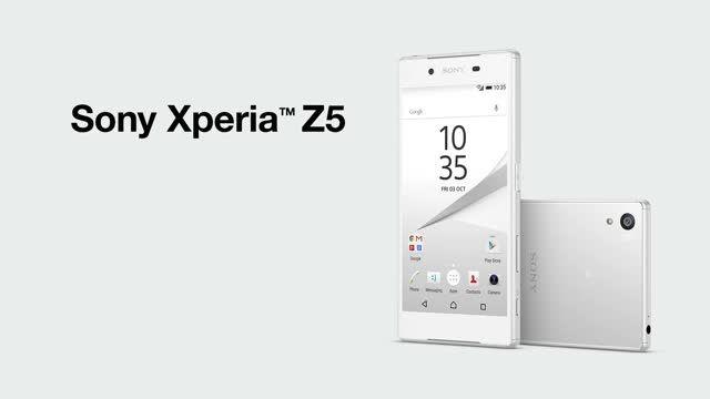 Sony Xperia Z5: Sony α™ camera technology