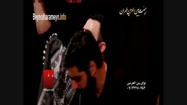 سید مجید بنی فاطمه - شب دوم فاطمیه دوم 1394 | شعرخوانی