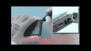 آموزش باز و بسته کردن گوشی نوکیا مدل NOKIA LUMIA 800
