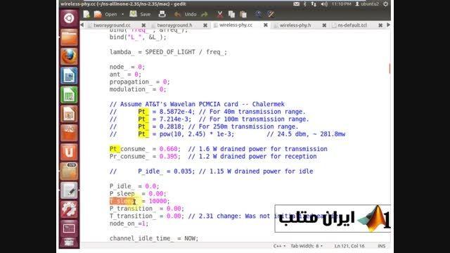 قسمت هفتم دانلود فیلم فارسی شبیه سازی شبکه NS2