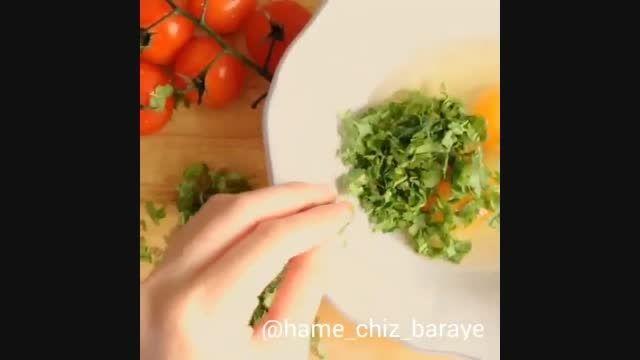 روش درست کردن یه غذای ساده