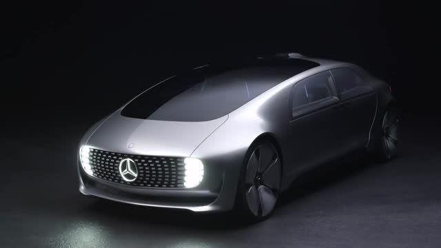 تصویری از رویای ماشین های بدون راننده مرسدس بنز