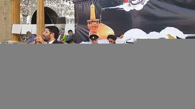 قزوین میزبان سفیران حرم رضوی | امامزاده حسین (ع) قزوین