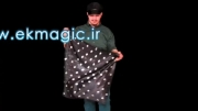 -دستمال خالدار-Silk spotted magic tricks by ek magic co