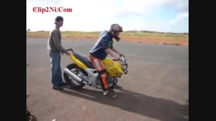 تک چرخ زدن با موتور بدون چرخ چلو