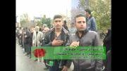 دسته عزاداری مسجد حجتی تاکستان - عاشورای 92