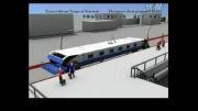 ابتکاری که با آن مترو بدون توقف مسافران خود را پیاده یا سوار