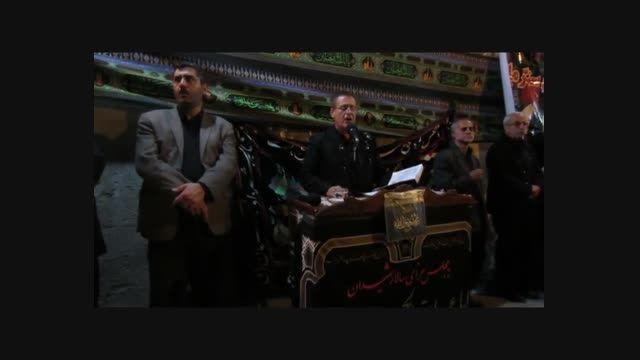 عزاداری هیئت عزاداران مزرک در مسجد قائم آل محمد (عج)3