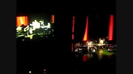 اجرای آهنگ برای آخرین بار در كنسرت لس آنجلس