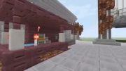 بازسازی مقر اصلی Destiny در بازی Minecraft
