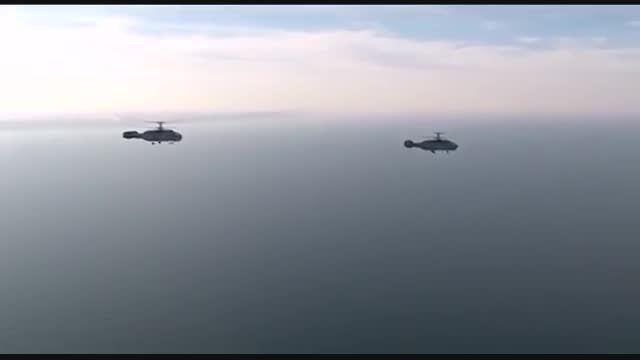 Kamov Ka-27 بالگرد نیروی دریایی روسیه