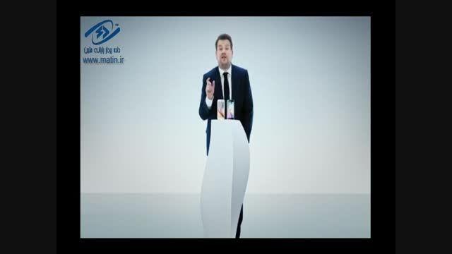 James Corden در دومین آگهی جالب وجذاب گلکسی S6 سامسونگ
