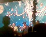 ایرج خواجه امیری در تفرش(جشن اعیاد شعبانیه88)
