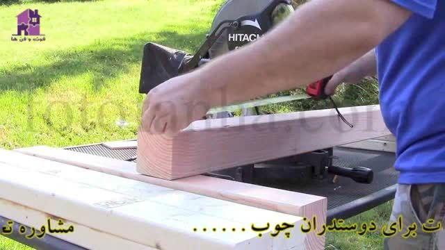 آموزش ساخت استند آکواریوم توسط فوت و فن ها
