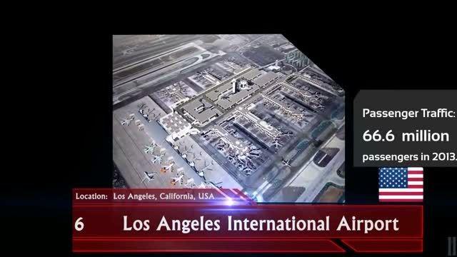 شلوغ ترین فرودگاه های دنیا در سال 2013-2014