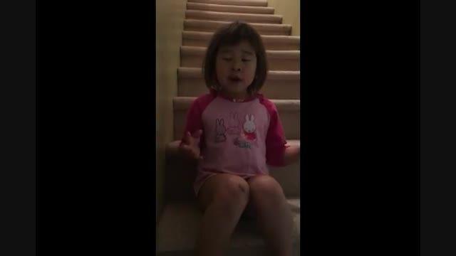 دختر 6 ساله چینی - کانادایی از طلاق والدین جلوگیری کرد