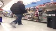 ترسوندن خنده دار در فروشگاه مواد غذایی :)))))
