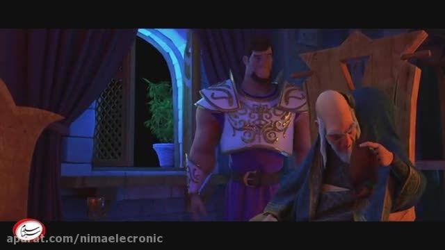 تریلر انیمیشن شاهزاده روم