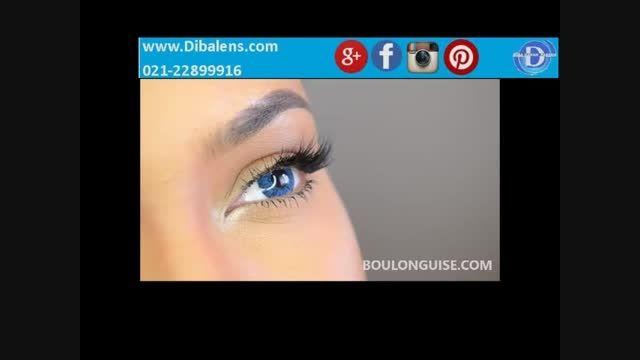 لنز فرشلوک آبی براق Freshlook  Brilliant Blue