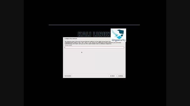 اموزش نصب کالی لینوکس