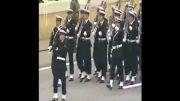 رژه ی بسیاردیدنی ارتش ژاپن با موزیک مخصوص رژه ی چش بادومی ها