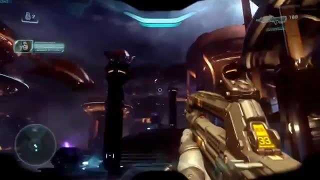 دمو گیم پلی بازی Halo 5 (همایش E3 2015)