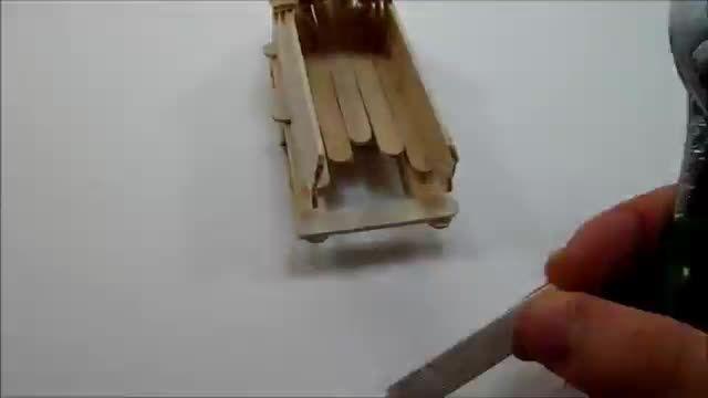 ساخت هلی کوپتر با چوب بستنی