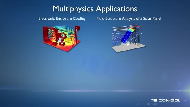 Flow Simulations With Comsol Multiphysics