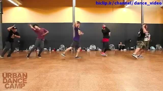 تمرین رقص با آهنگ برونو مارس
