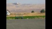 اولین فرود بویینگ747ایران ایر در فرودگاه کرمانشاه
