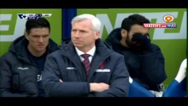 کریستال پالاس 1-2 آرسنال _ لیگ برتر فصل 2014-2015