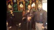 مداحی صوتی حسن ریوندی در مراسم عزادارای امام حسین (ع)