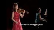 دوئت ویولن و پیانو - paganini