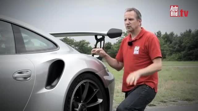پورشه 911 GT3 RS در تست پیست
