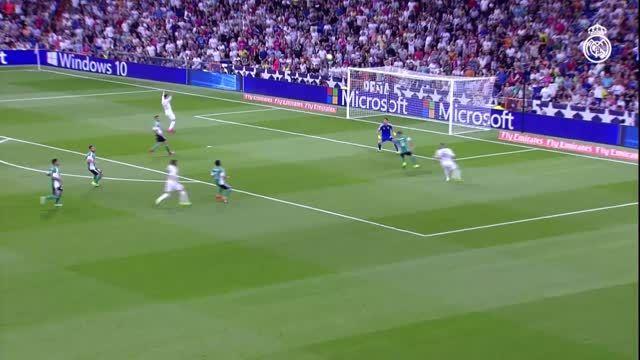 رئال مادرید 5-0 رئال بتیس (خلاصه و گلها)