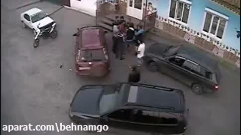 دعوای گروهی خونین در روسیه..!
